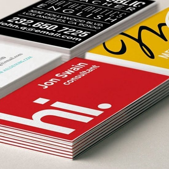 colourcore business cards