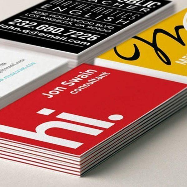 colourcore business cards