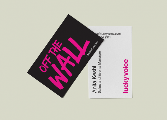 matt lamination business cards