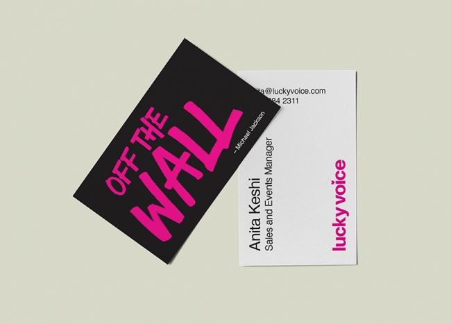 matt lamination business cards