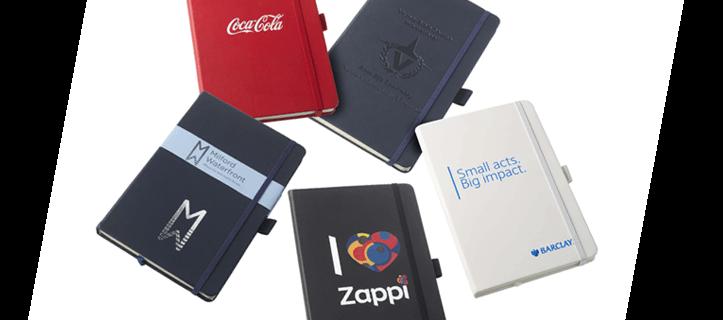 business branded notebooks