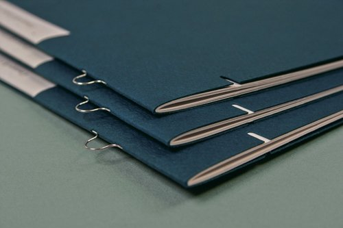 loop staple binding