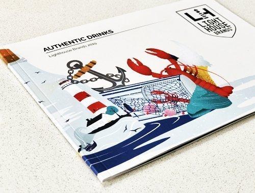 perfect bound brochures